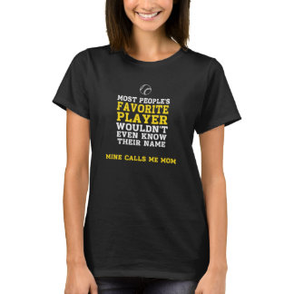Mom's Favourite BB/SB Player Dark Shirt Front Only