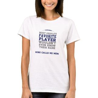 Mom's Favourite Football Player Light Shirt BG Fr