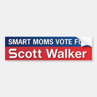 Moms For Scott Walker Bumper Sticker