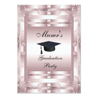 Mom's Graduation Party Formal Invitation