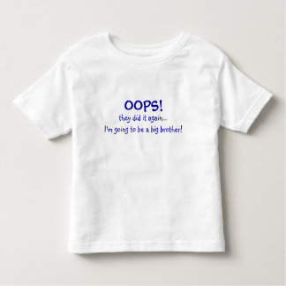 Mom's Having a Baby-Big Brother Toddler T-shirt