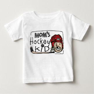 Mom's Hockey Kid Baby T-Shirt