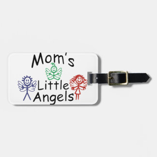 Moms Little Angels Luggage Tag