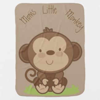 Moms Little Monkey Baby Blanket
