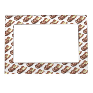 Mom's Meatloaf Mashed Potatoes Gravy Food Foodie Magnetic Picture Frame