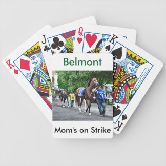 Mom's on Strike Bicycle Playing Cards