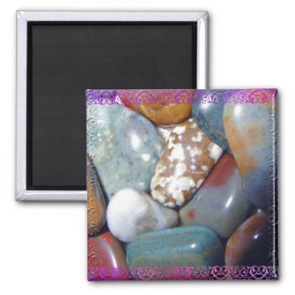 Mom's Polished Rocks #1 Magnet