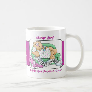 Mom's Shear Joy - 10 Minutes Peace & Quiet Coffee Mug