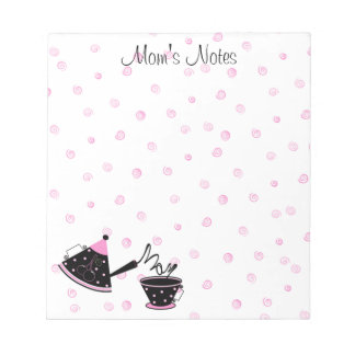 Mom's Tea Pot Notepad