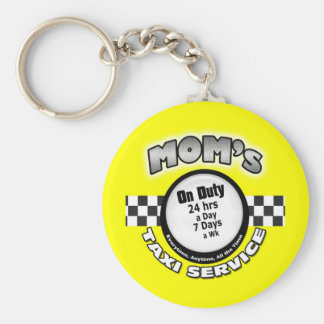 MomTaxi Keychain