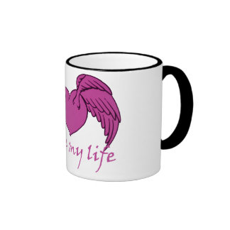 Mon ange mug ringer
