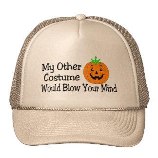 Mon autre costume soufflerait votre citrouille d'e casquettes de camionneur