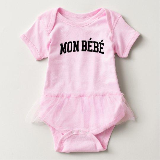 Mon Bébé Baby Tutu Baby Bodysuit