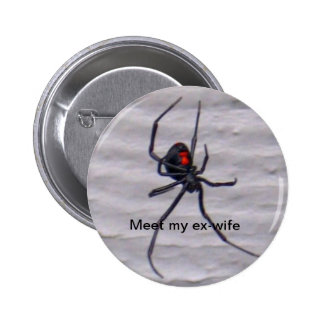 Mon bouton d ex-femme badges avec agrafe