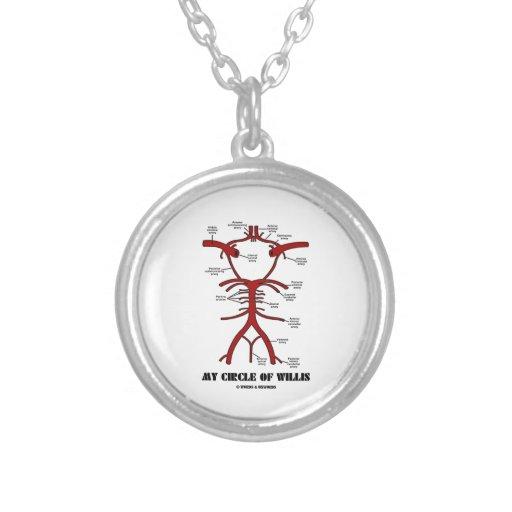 Mon cercle de willis (anatomique) collier personnalisé