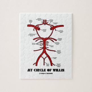Mon cercle de willis (anatomique) puzzles avec photo
