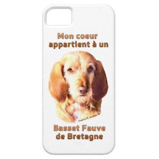Mon Coeur Appartient A Un Basset Fauve de Bretagne Case For The iPhone 5