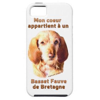 Mon Coeur Appartient A Un Basset Fauve de Bretagne iPhone 5 Covers