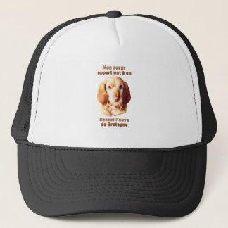 Mon Coeur Appartient A Un Basset Fauve de Bretagne Trucker Hat