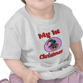 Mon ęr bébé de Noël (Elf) vêtx T-shirts