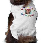 Mon frère de bébé - photo customisée t-shirt pour animal domestique