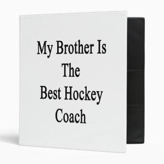 Mon frère est le meilleur car d'hockey