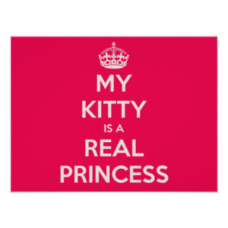 Mon Kitty est une vraie princesse Poster