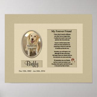 Mon mémorial de chien d ami de Forever