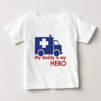 Mon papa est mon héros t shirt