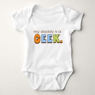 Mon papa est un geek t shirts