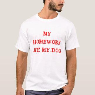 Mon travail a mangé mon chien t-shirt