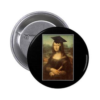 Mona Graduate 2 Inch Round Button