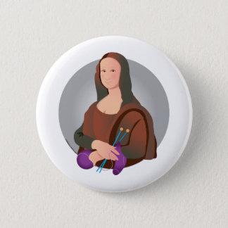 Mona Knits 2 Inch Round Button