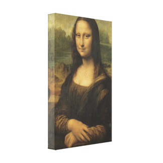 Mona Lisa, 1506 Gallery Wrapped Canvas