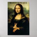 Mona Lisa - a MasterPeace Poster