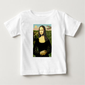 Mona Lisa - Add a pet Baby T-Shirt