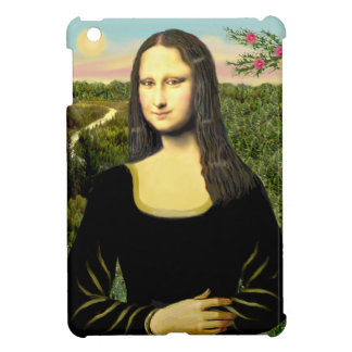 Mona Lisa - Add a pet iPad Mini Covers