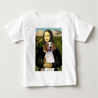 Mona Lisa - American Foxhound Baby T-Shirt