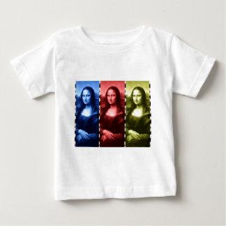 Mona Lisa Animal Print Primary Colors Baby T-Shirt