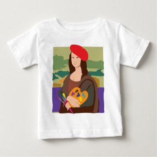 Mona Lisa Artist Baby T-Shirt
