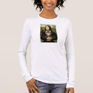 Mona Lisa - Brown Tabby Tiger cat Long Sleeve T-Shirt