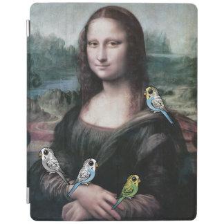 Mona Lisa & Budgies iPad Cover