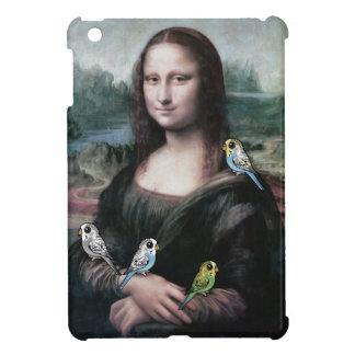 Mona Lisa & Budgies iPad Mini Cases