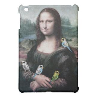 Mona Lisa & Budgies iPad Mini Covers