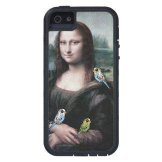 Mona Lisa & Budgies iPhone 5 Covers