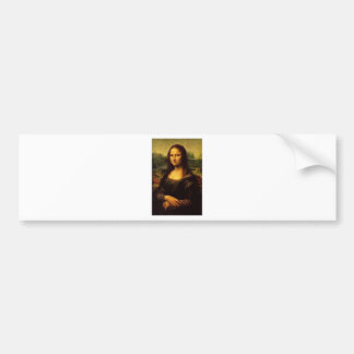 Mona Lisa Bumper Sticker