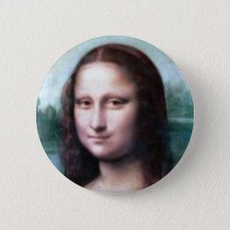 Mona Lisa by Leonardo Da Vinci 2 Inch Round Button