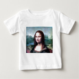 Mona Lisa by Leonardo da Vinci Baby T-Shirt