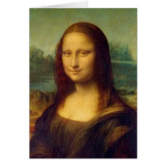 Mona Lisa by Leonardo da Vinci Card