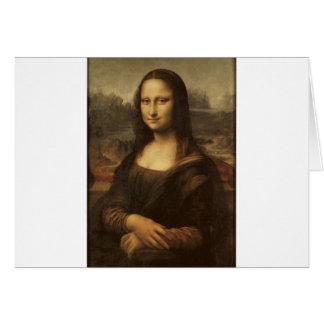 Mona Lisa by Leonardo da Vinci circa 1505-1513 Card